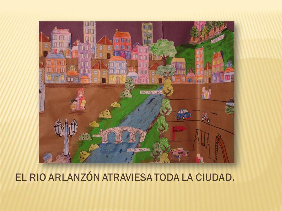 EL RIO ARLANZÓN ATRAVIESA TODA LA CIUDAD.