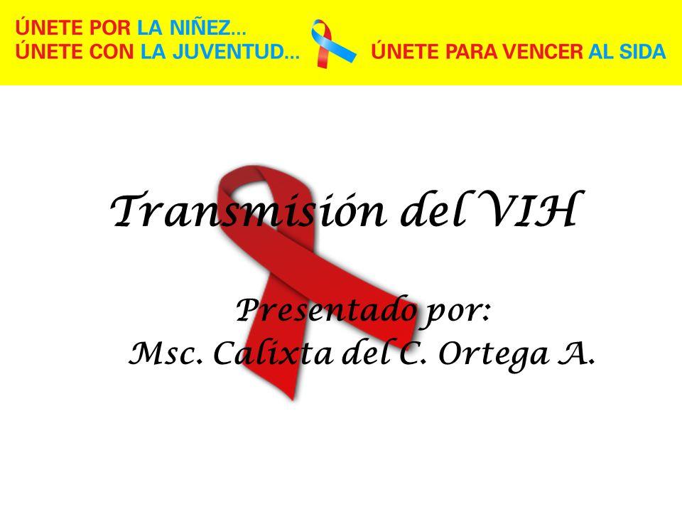 Presentado por: Msc. Calixta del C. Ortega A.