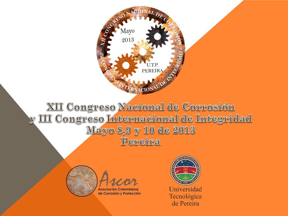 XII Congreso Nacional de Corrosión