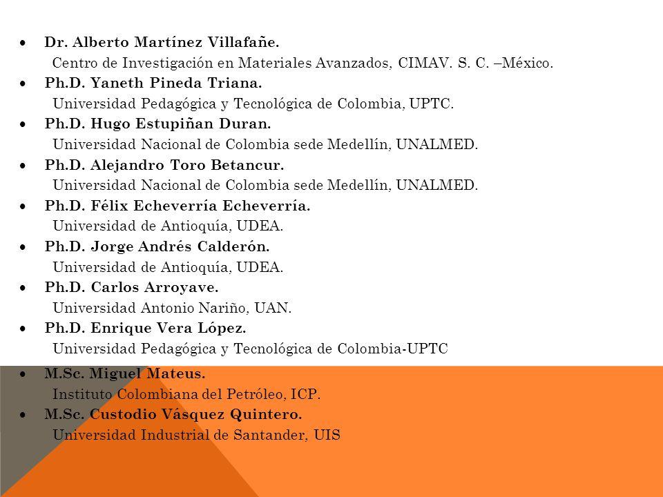 Dr. Alberto Martínez Villafañe.