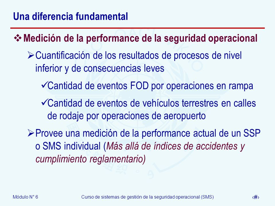 Una diferencia fundamental