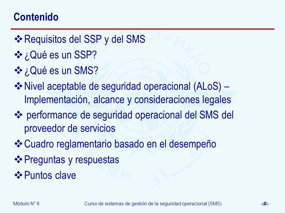 Contenido Requisitos del SSP y del SMS. ¿Qué es un SSP ¿Qué es un SMS