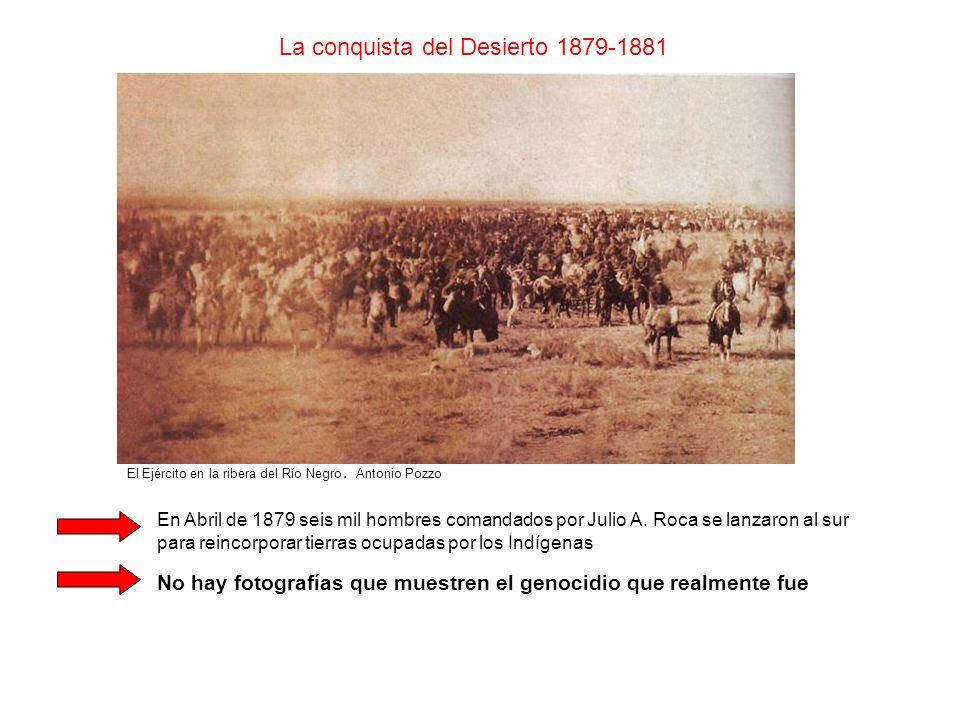 La conquista del Desierto 1879-1881