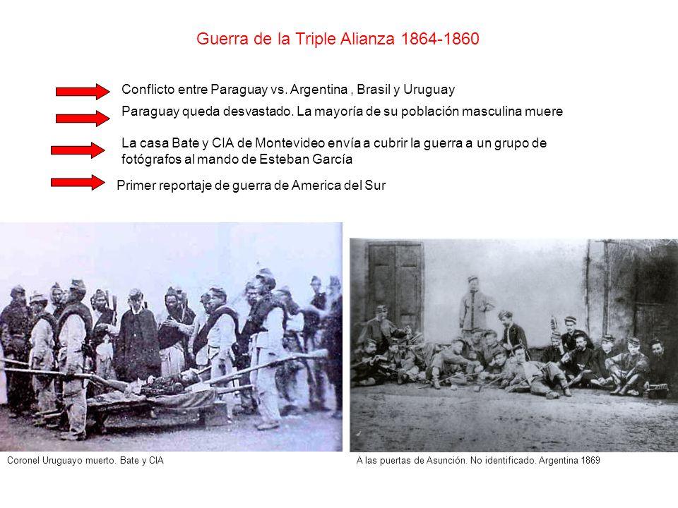Guerra de la Triple Alianza 1864-1860
