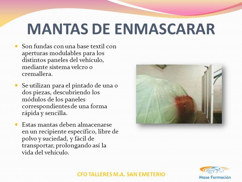 MANTAS DE ENMASCARAR