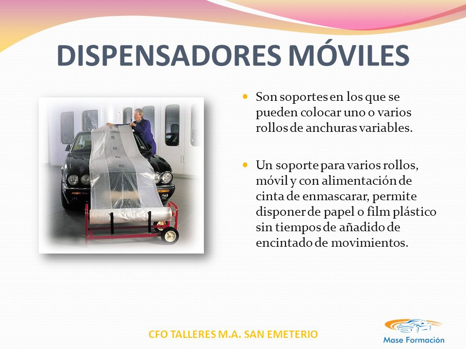 DISPENSADORES MÓVILES