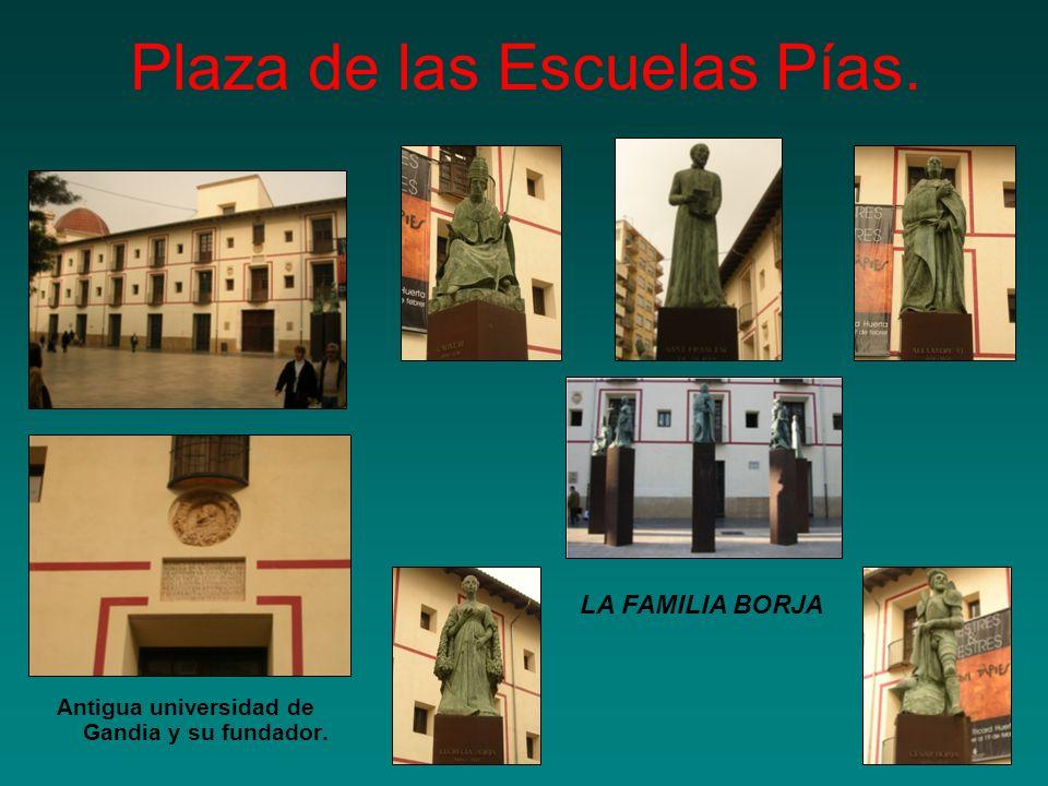 Plaza de las Escuelas Pías.