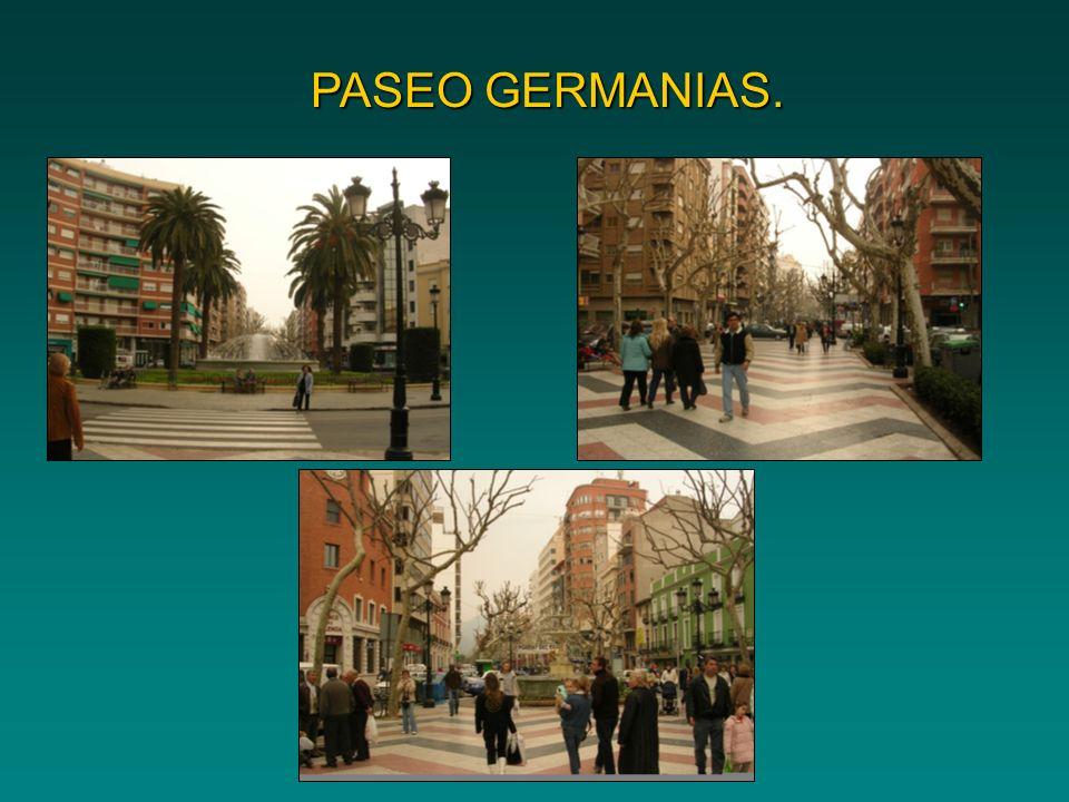 PASEO GERMANIAS.