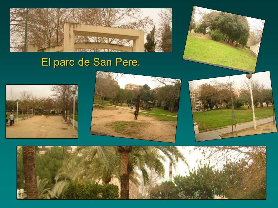 El parc de San Pere.
