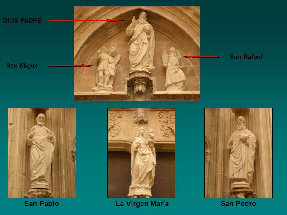 San Pablo La Virgen María San Pedro
