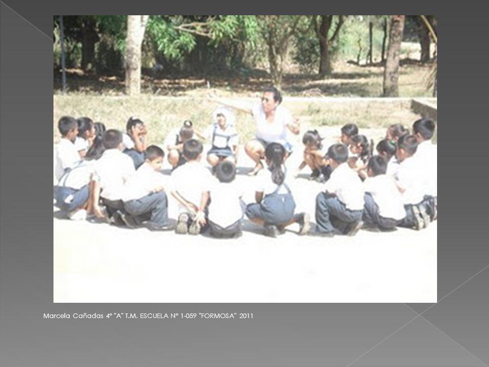 Marcela Cañadas 4° A T.M. ESCUELA N° 1-059 FORMOSA 2011