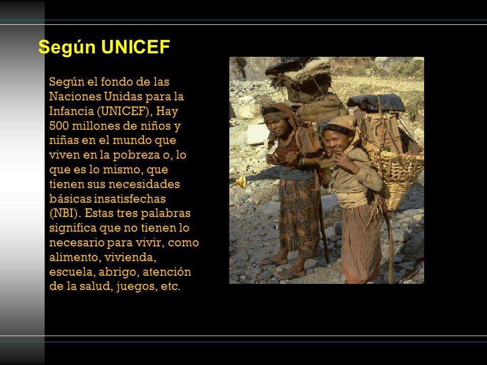 Según UNICEF