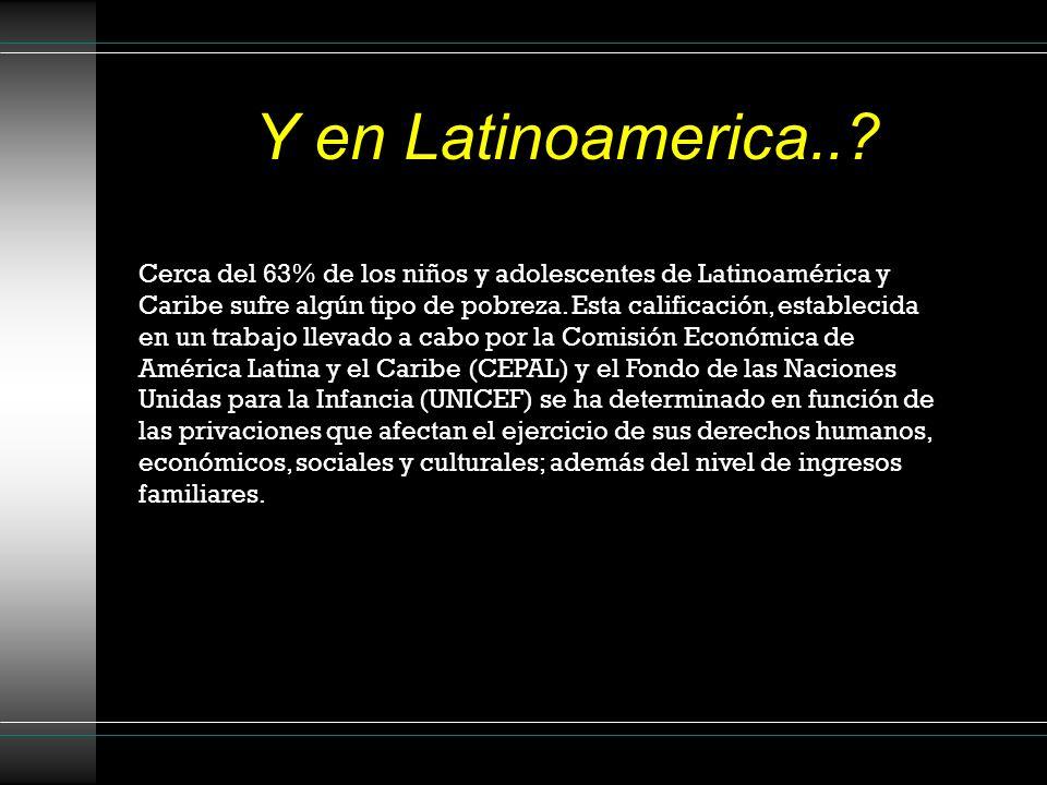 Y en Latinoamerica..