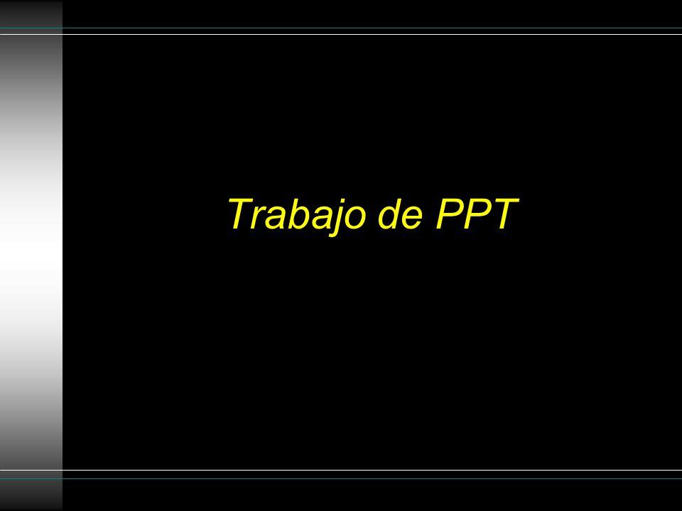 Trabajo de PPT