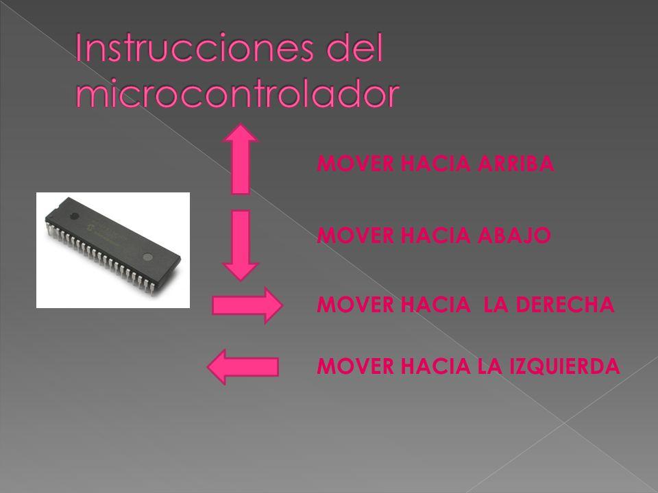 Instrucciones del microcontrolador