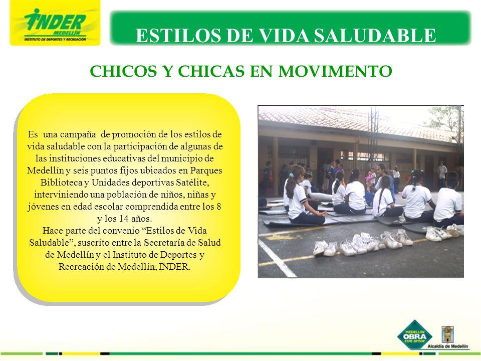 CHICOS Y CHICAS EN MOVIMENTO