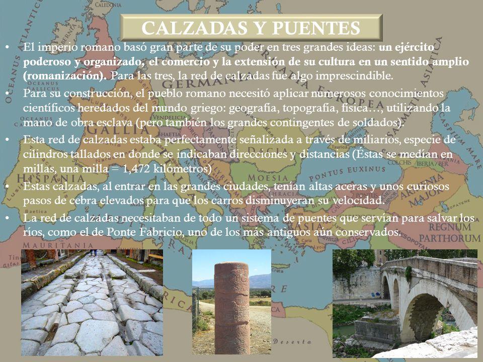 CALZADAS Y PUENTES