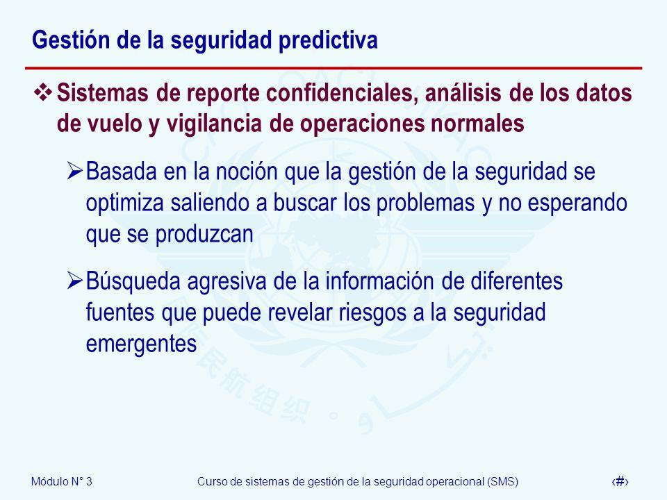 Gestión de la seguridad predictiva