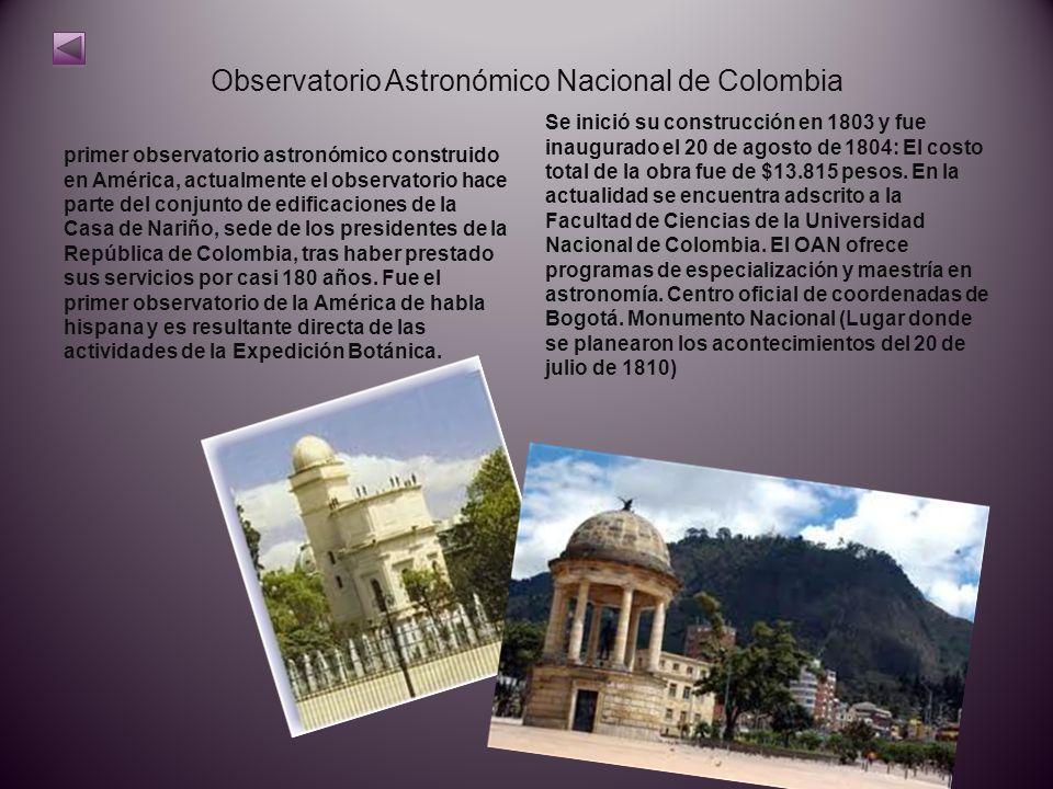 Observatorio Astronómico Nacional de Colombia