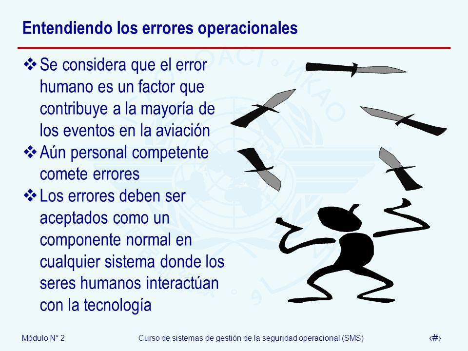 Entendiendo los errores operacionales
