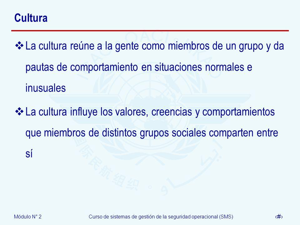 CulturaLa cultura reúne a la gente como miembros de un grupo y da pautas de comportamiento en situaciones normales e inusuales.