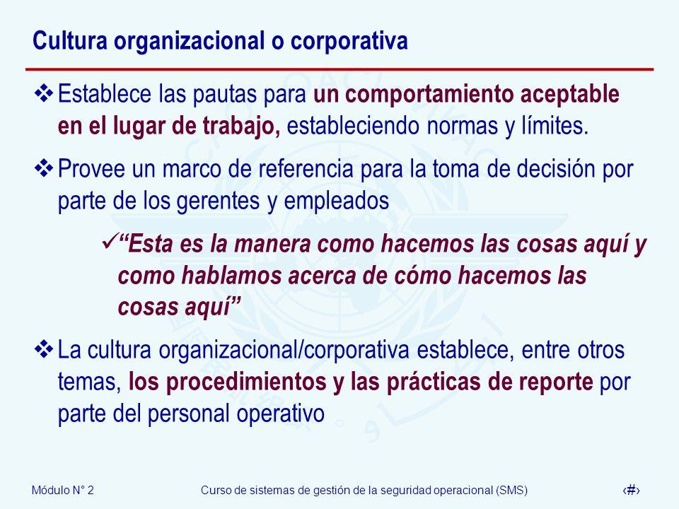 Cultura organizacional o corporativa