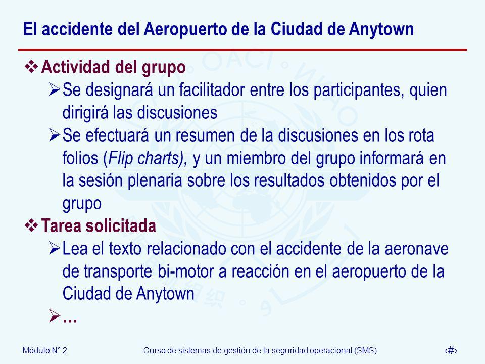 El accidente del Aeropuerto de la Ciudad de Anytown