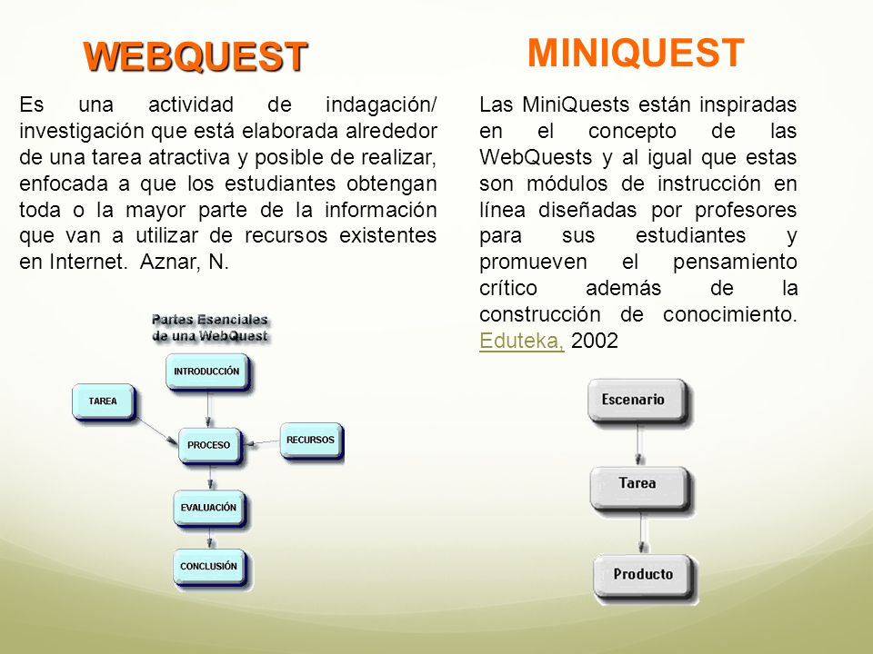 MINIQUEST WEBQUEST.