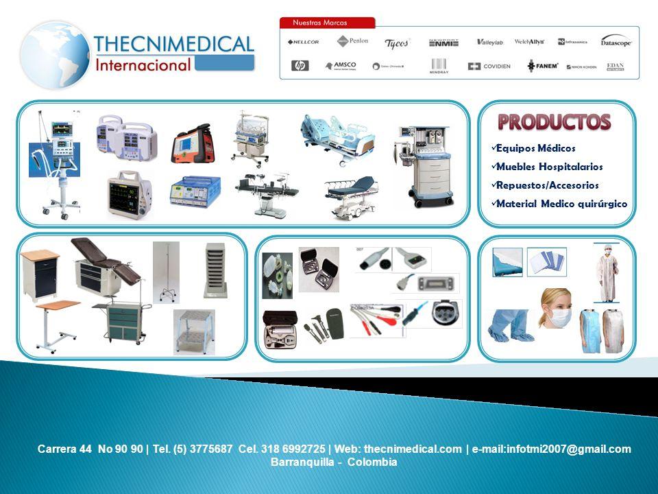 PRODUCTOS Equipos Médicos Muebles Hospitalarios Repuestos/Accesorios