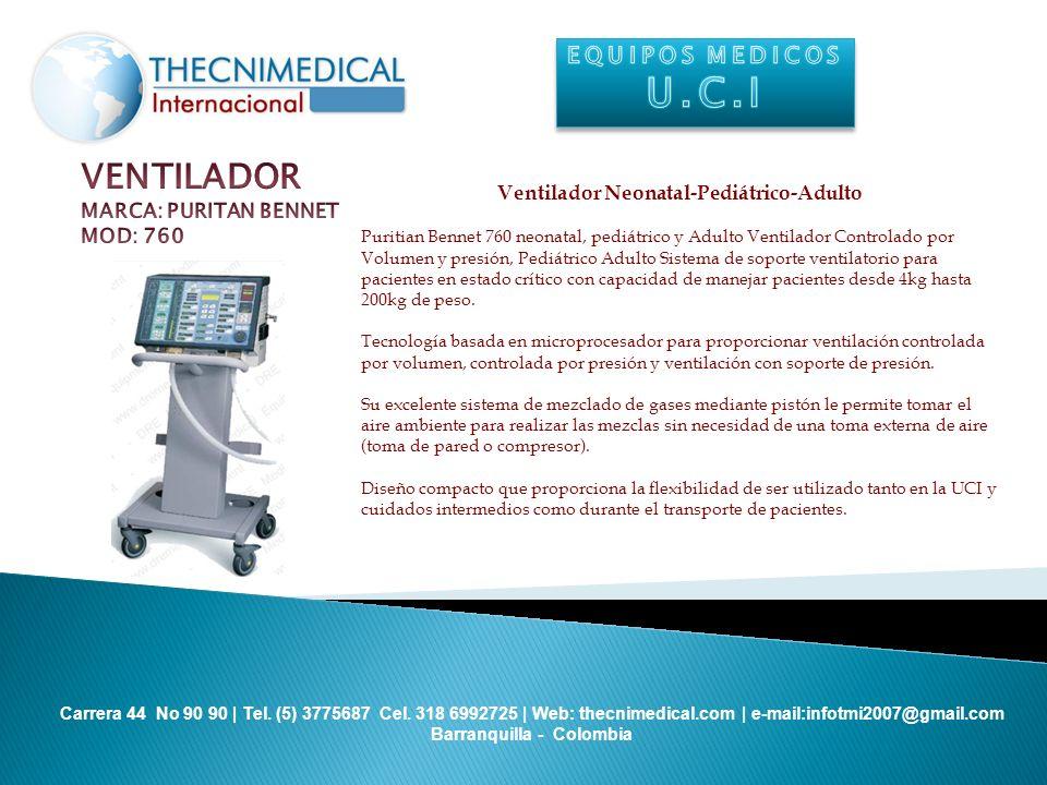 Ventilador Neonatal-Pediátrico-Adulto