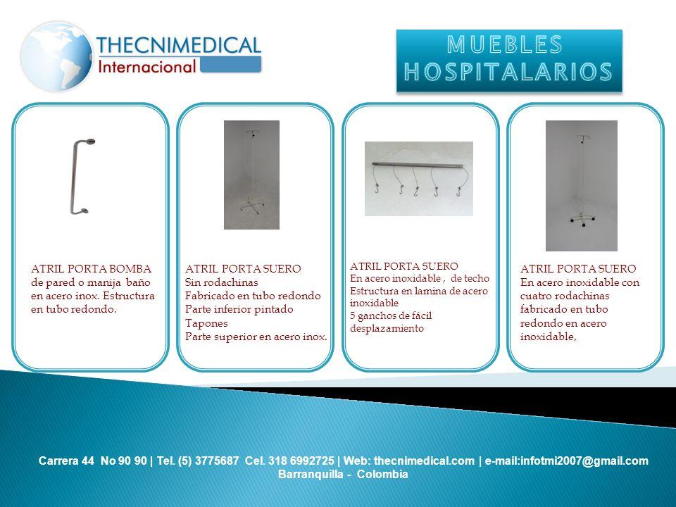 MUEBLES HOSPITALARIOS