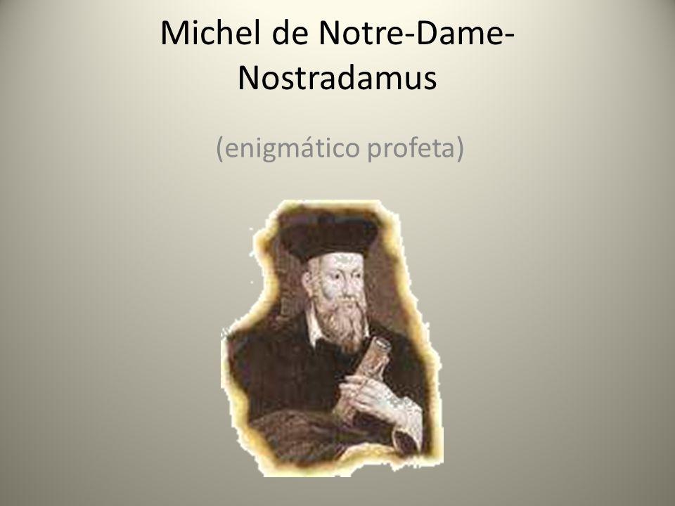 Michel de Notre-Dame-Nostradamus