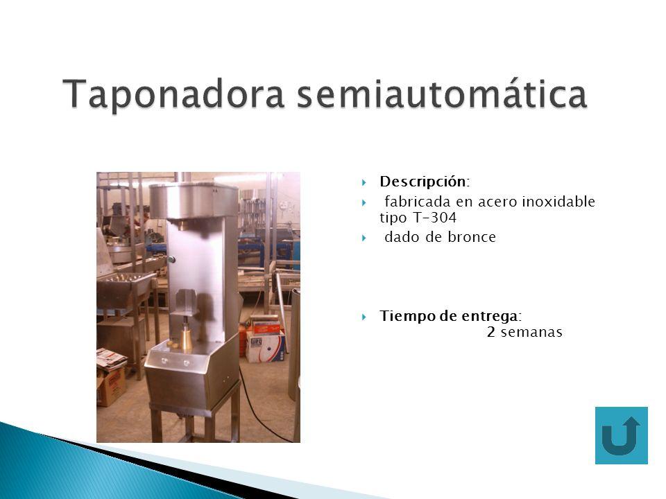 Taponadora semiautomática