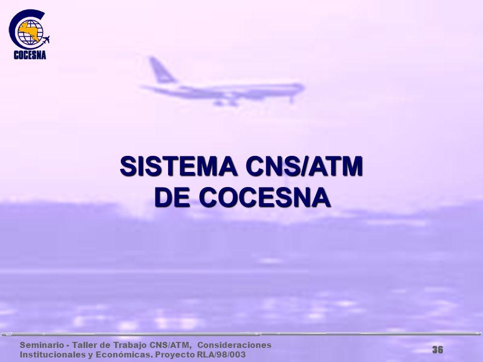 SISTEMA CNS/ATM DE COCESNA