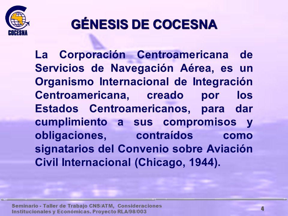 GÉNESIS DE COCESNA