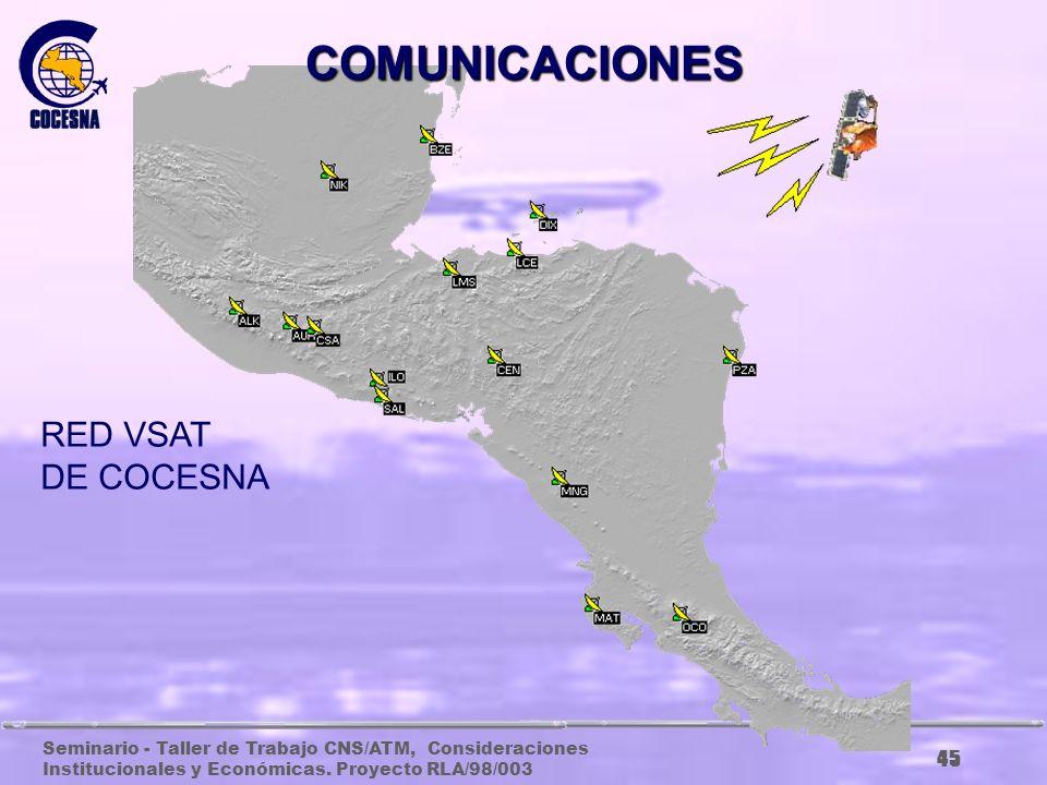 COMUNICACIONES RED VSAT DE COCESNA