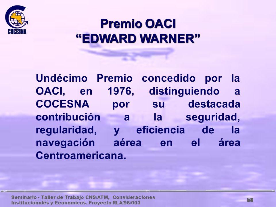 Premio OACI EDWARD WARNER