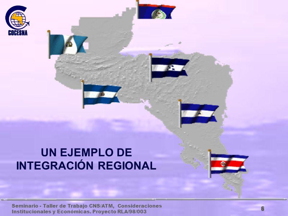 UN EJEMPLO DE INTEGRACIÓN REGIONAL