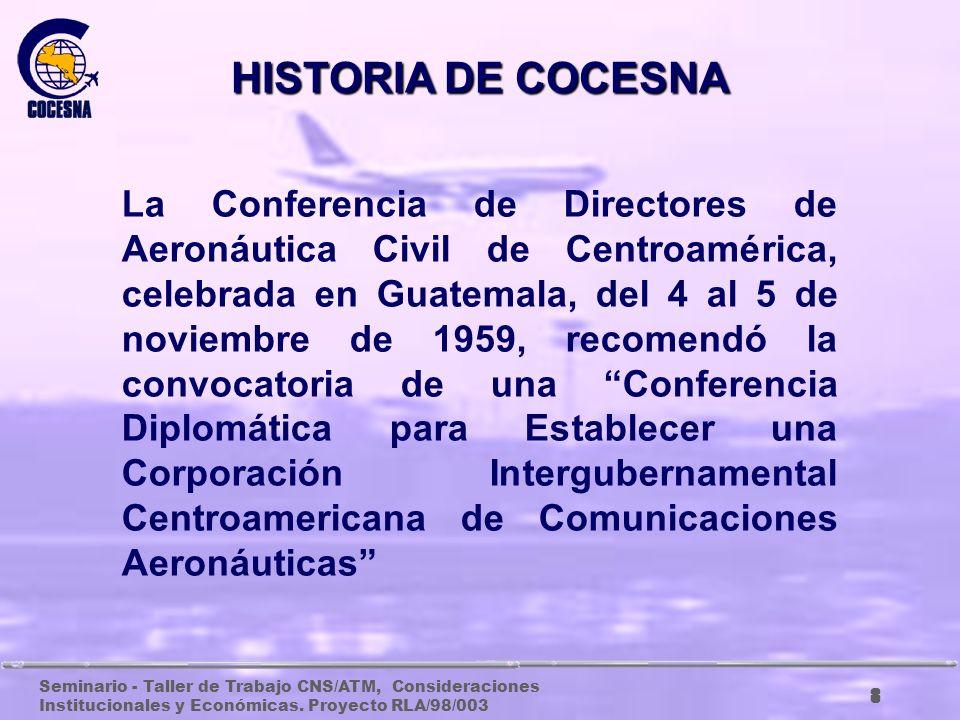 HISTORIA DE COCESNA
