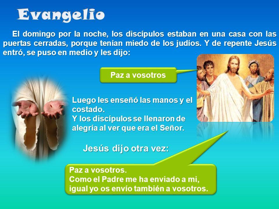 Evangelio Jesús dijo otra vez: