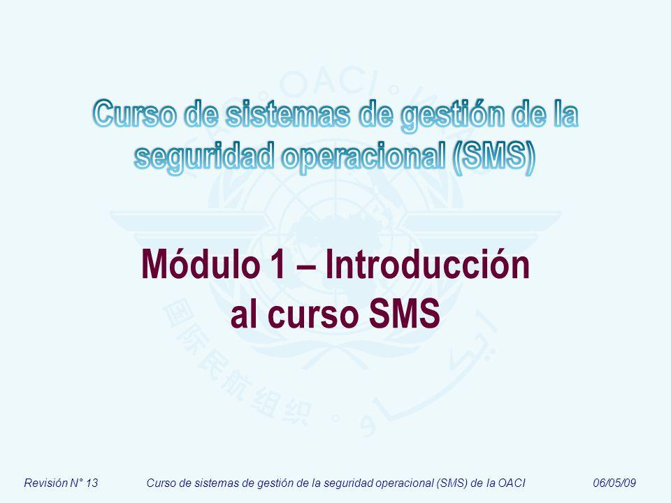 Módulo 1 – Introducción al curso SMS