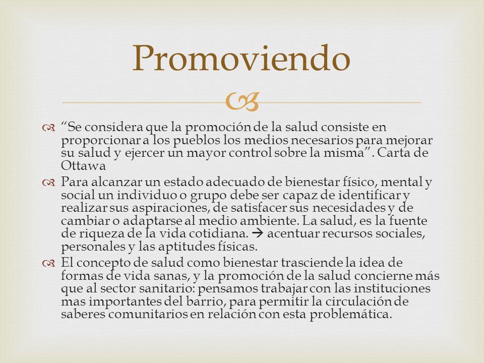 Promoviendo