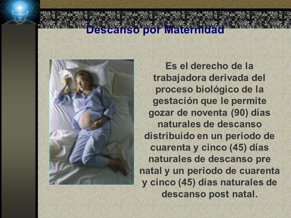 Descanso por Maternidad