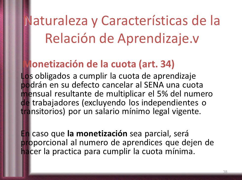 Naturaleza y Características de la Relación de Aprendizaje.v
