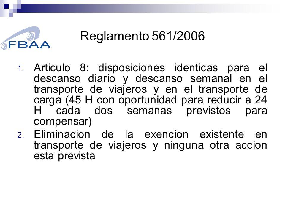 Reglamento 561/2006