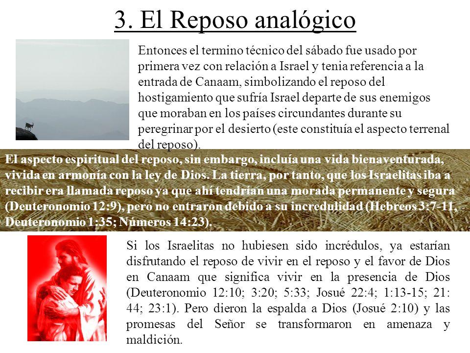 3. El Reposo analógico