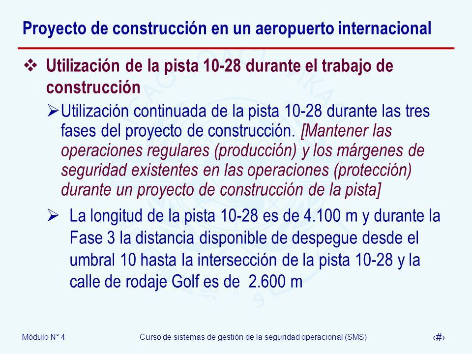 Proyecto de construcción en un aeropuerto internacional