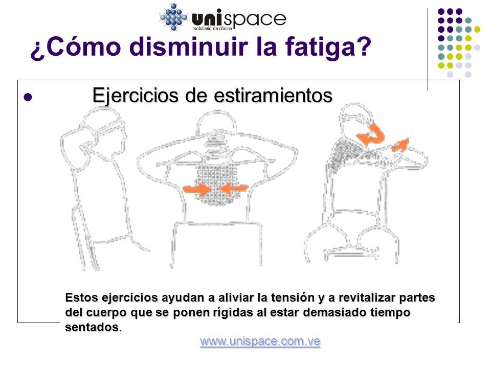 ¿Cómo disminuir la fatiga