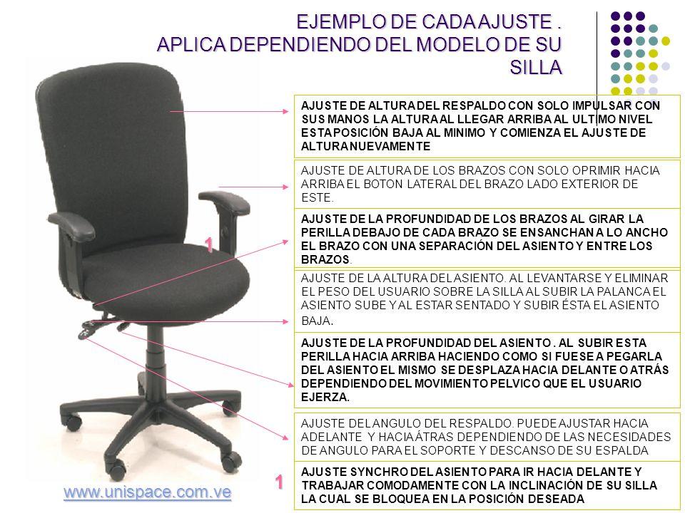 En la oficina aplicada a sillas ppt descargar - Arreglar silla oficina se queda baja ...