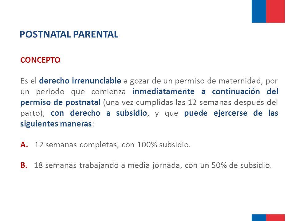 POSTNATAL PARENTAL CONCEPTO